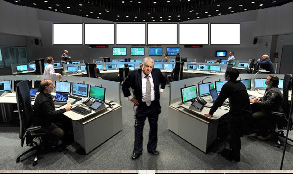 CEO of CINE POLO who claims to have brokered the historic deal in his control room.