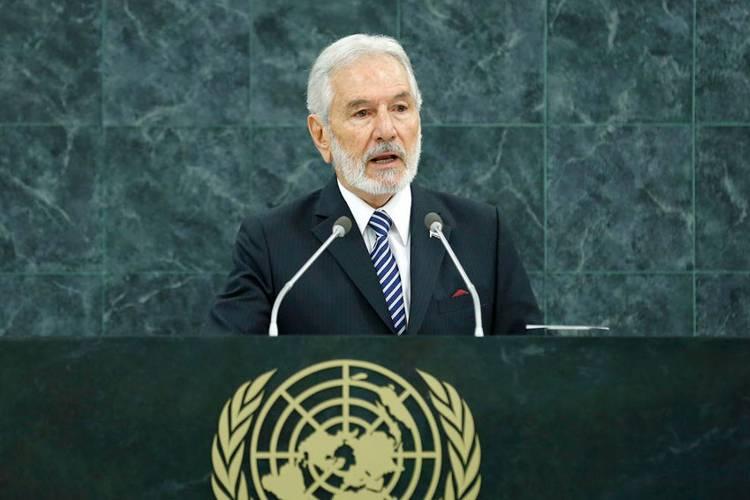 Samuel Santos López, Minister for Foreign Affairs of Nicaragua. UN Photo/Evan Schneider