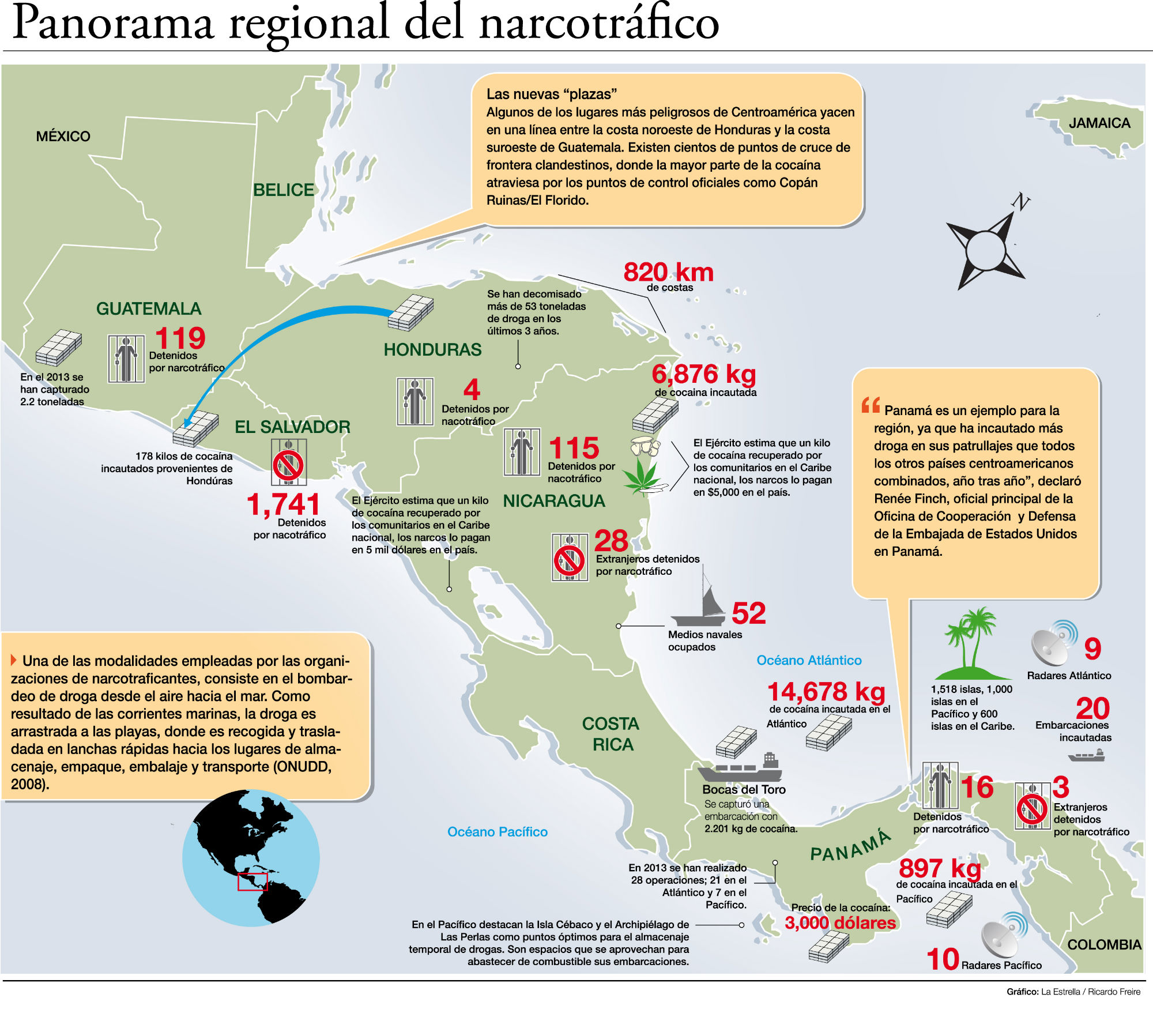 Narco-Islands: The Honduras-Belize Tourist Bridge | TODAY NICARAGUA NEWS