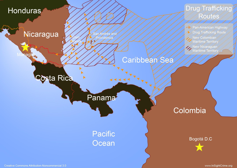 NicaraguaDrugRoutes