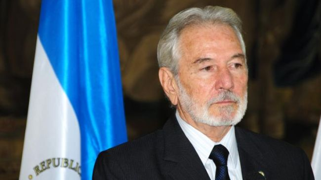 Nicaraguan Foreign Minister Samuel Santos.
