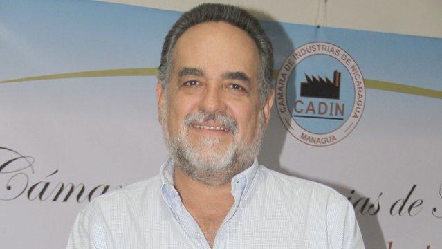 Mario Amador, vicepresidente de la Cámara de Industrias de Nicaragua.