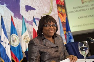 Battling Ebola: Dr. Carissa F. Etienne, director of the Pan American Health Organization (PAHO), is helping Latin American nations prepare for possible cases of Ebola. International cooperation is crucial in containing the deadly virus [Photo: PAHO]