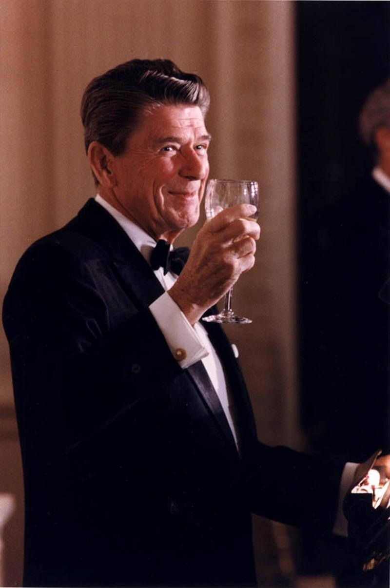 Ronald Wilson Reagan was an American actor and politician. He was the 40th President of the United States,