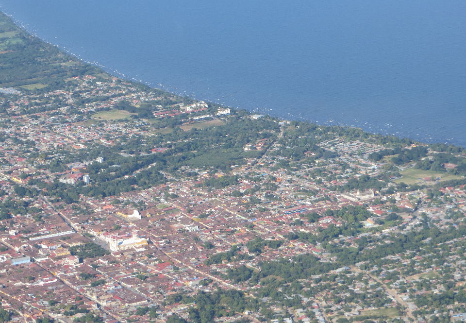 """""""Lovely Granada sits on the shore of Lake Nicaragua."""""""