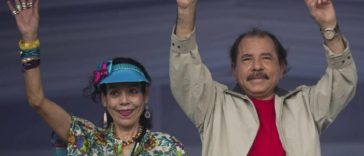Nicaragua's Daniel Ortega is running for reelection, this time with his wife, Rosario Murillo, on the ticket for vice president. Esteban Felix AP