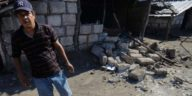 Surveying the damage in Mira Lagos, en La Paz Centro.